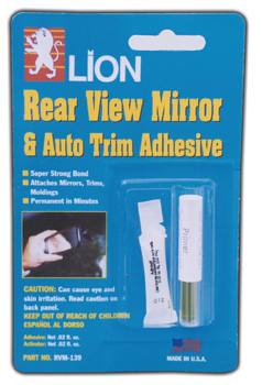 Rvm 139 Lion Rear View Mirrow Adhesive Lion Pegamento